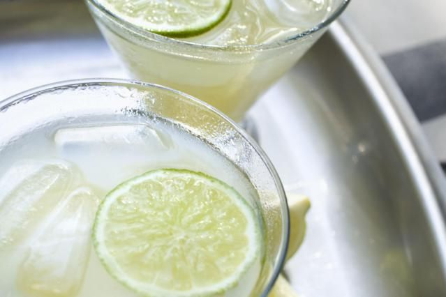 MARGARITA:  Recipe for low-carb, sugar-free keto margaritas. Ingredients: 1 shot (1.5 oz) tequila, 2 T (1 oz) lime juice - bottled more convenient, fresh tastes better, 1/4 cup (4 Tablespoons) water, 1/4 tsp orange extract, zero carb sweetener (I like to use liquid types), Ice. Margarita salt or kosher salt for the rim.