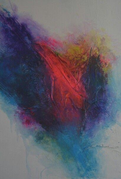 No.5 Kleurige moderne abstracte schilderijen, acrylverf op doek zonder lijst. Prijzen varieren tussen de 50 en  195 euro. Voor meer informatie neem contact op met schilderijen.Fenny@gmail.com