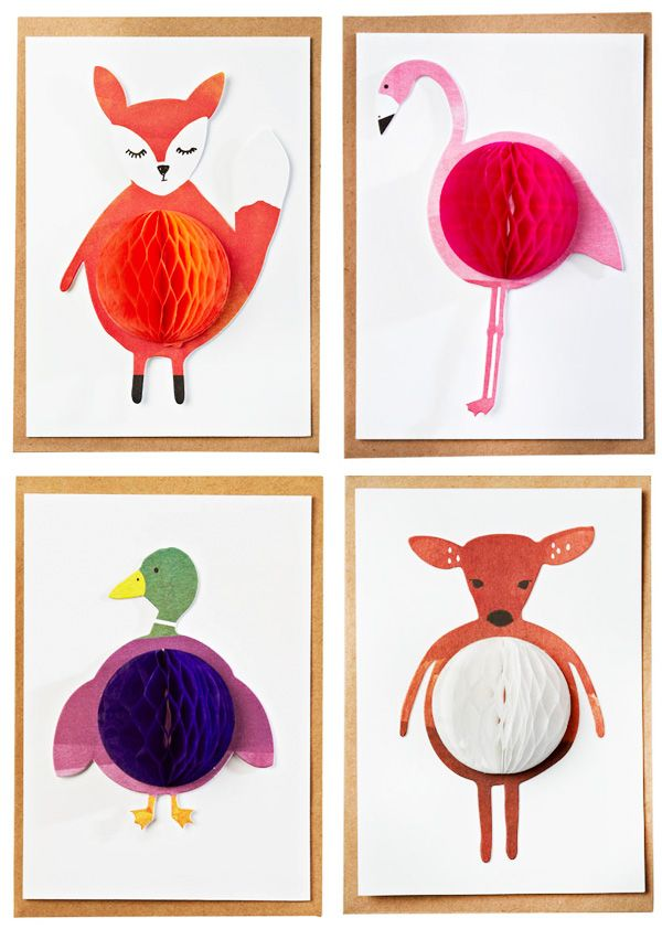 fabulous for a kids' room! these are cards, but you could do it on card stock in an inexpensive frame. would love to use felt for the animals.