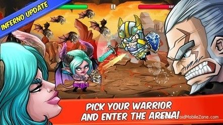 Tiny Gladiators APK v2.0.1 (Mod Money) - Android Game