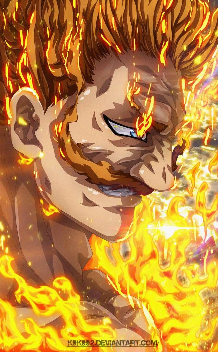 Escanor Ultimate The One By K9k992 On Deviantart Anime Vs Cartoon Escanor Seven Deadly Sins Seven Deadly Sins Anime