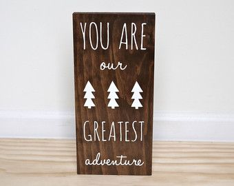 Woodland Nursery Be Brave Little One and You Are Our par HandyGerl