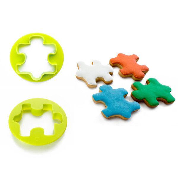 Cortador de galletas puzzle o rempecabezas