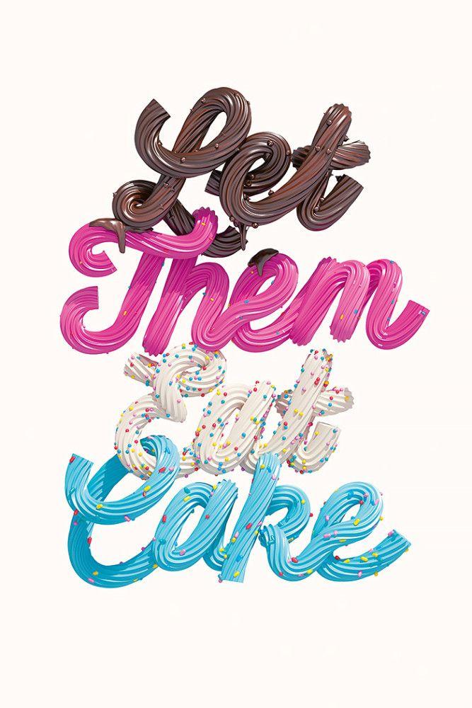 Let Them Eat Cake by Luke Choice