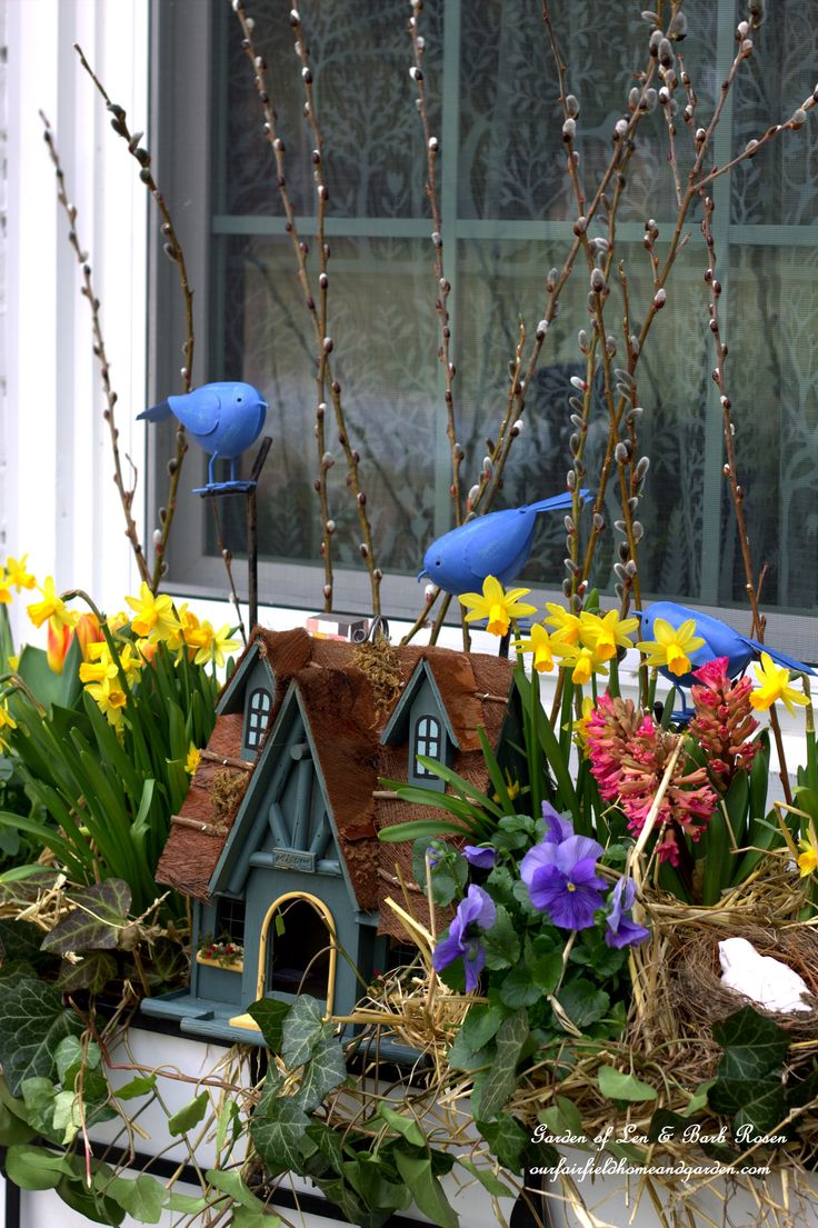Spring Fling! Our Fairfield Home and Garden's Windowboxes http://ourfairfieldhomeandgarden.com/spring-fling-our-fairfield-home-and-gardens-windowboxes/