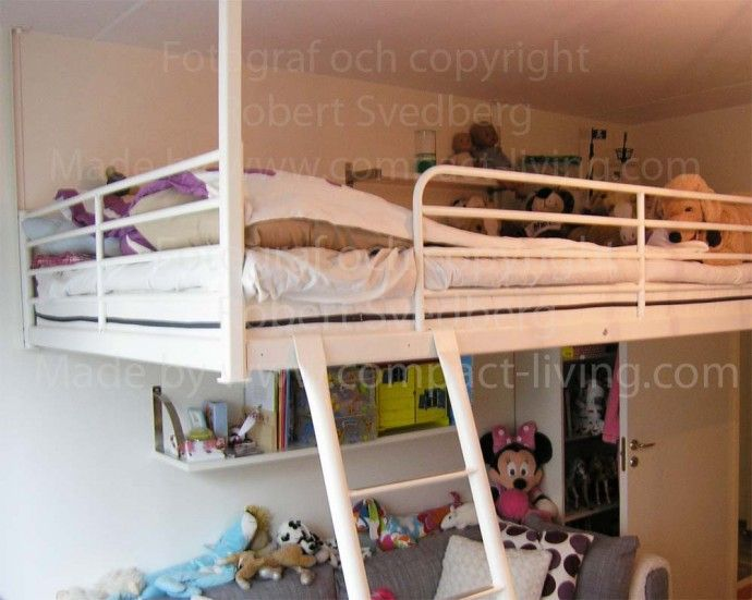 With IKEA's cot TROMSÖ or SVÄRTA, we have 4 pieces for only 1795: -