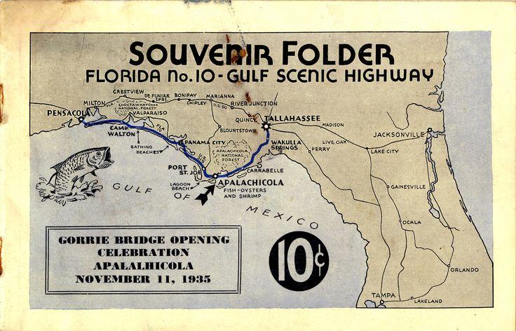 1935 Gorrie Bridge opening, Florida