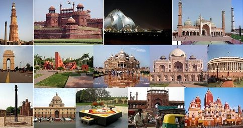 #NewDelhi: An escalated touring voyage through recent city would accompany a visit to the #QutubMinar, #Rajpath, past the forcing #AsianNationGate, #ParliamentHouse, the #President'sResidence and would complete with  the Diplomatic domain. Night keep in city.
