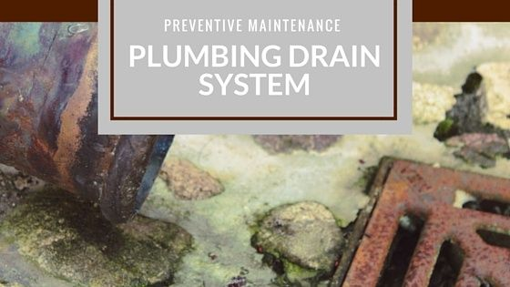 Property managers preventive maintenance for your plumbing drain system.
