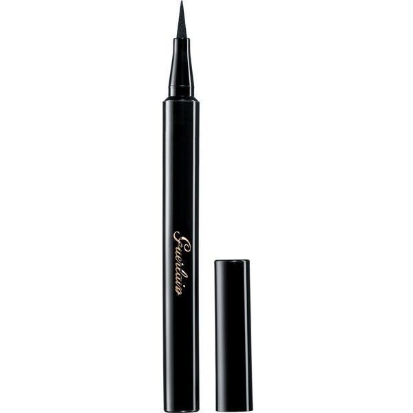 Guerlain Precision Felt Eyeliner L'Art du Trait (£23) ❤ liked on Polyvore featuring beauty products, makeup, eye makeup, eyeliner, guerlain eyeliner and guerlain