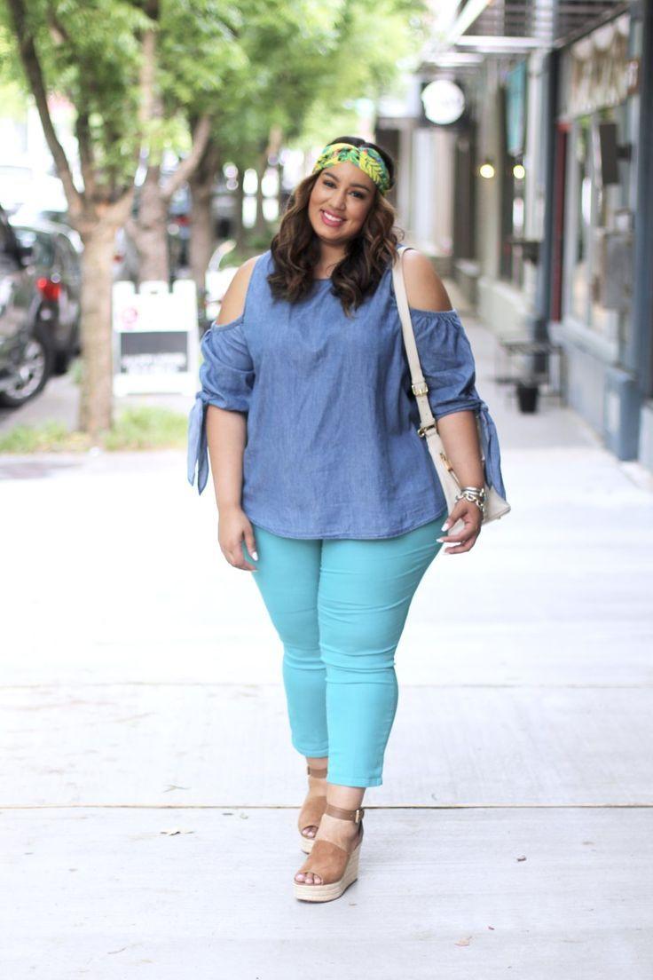 9c0265070ba08 Summer Chic Jeans | Show Me Style Me- Plus Size Outfit Ideas | Moda ...