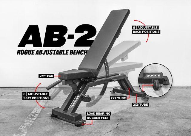 AB-2 Adjustable Bench