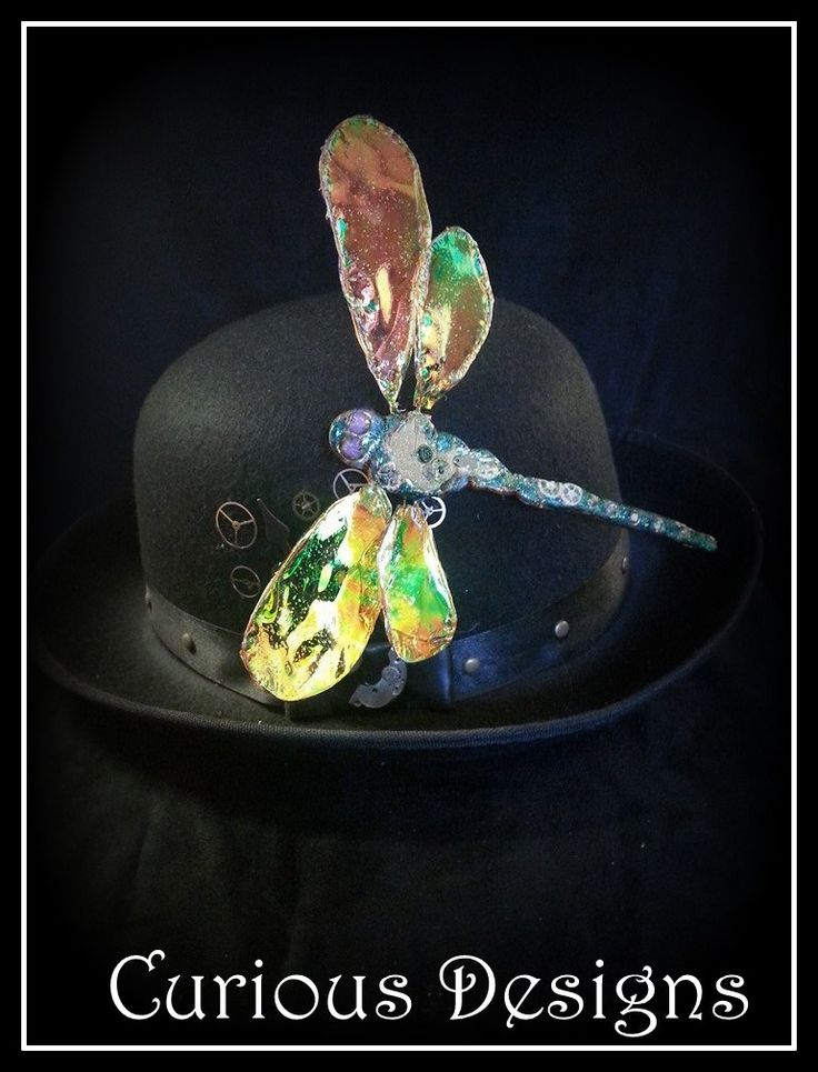 Dragon fly hat pin this is a story piece of jewellery from  Lady Ophelia Raven Lovelaces adventures  http://ladyopheliaravenlovelace.blogspot.co.uk/ https://www.facebook.com/pages/Curious-Designs/353536071461624?sk=info #steampunk #ladyopheliaravenlovelace #curiousdesigns # dragonfly #jewellery #hatpin