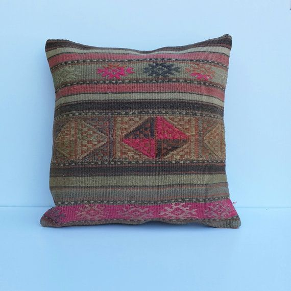 Hey, I found this really awesome Etsy listing at https://www.etsy.com/listing/158090768/turkishethnic-kilim-pillow-cover-24x24