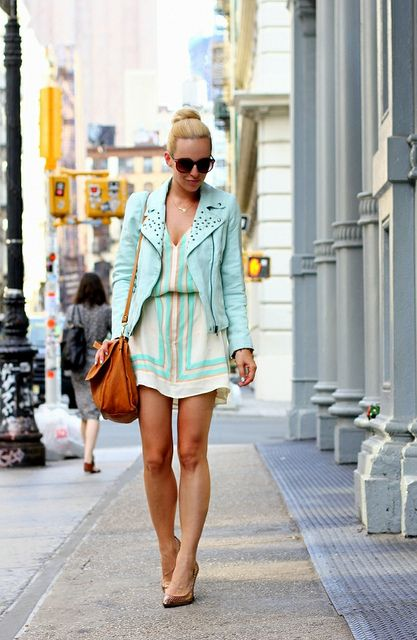 Fashion blogger and stylist @Helena Glazer looking city summer perfect-o as usual!
