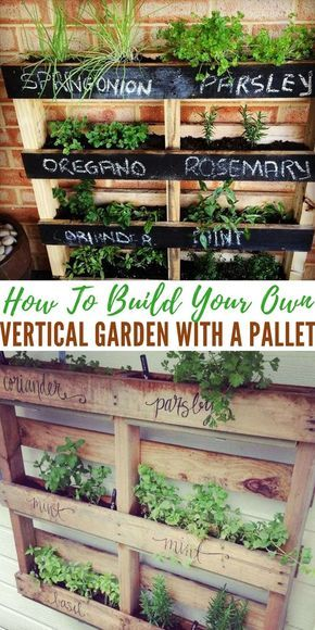 How To Construct Your Personal Vertical Lawn with a Pallet