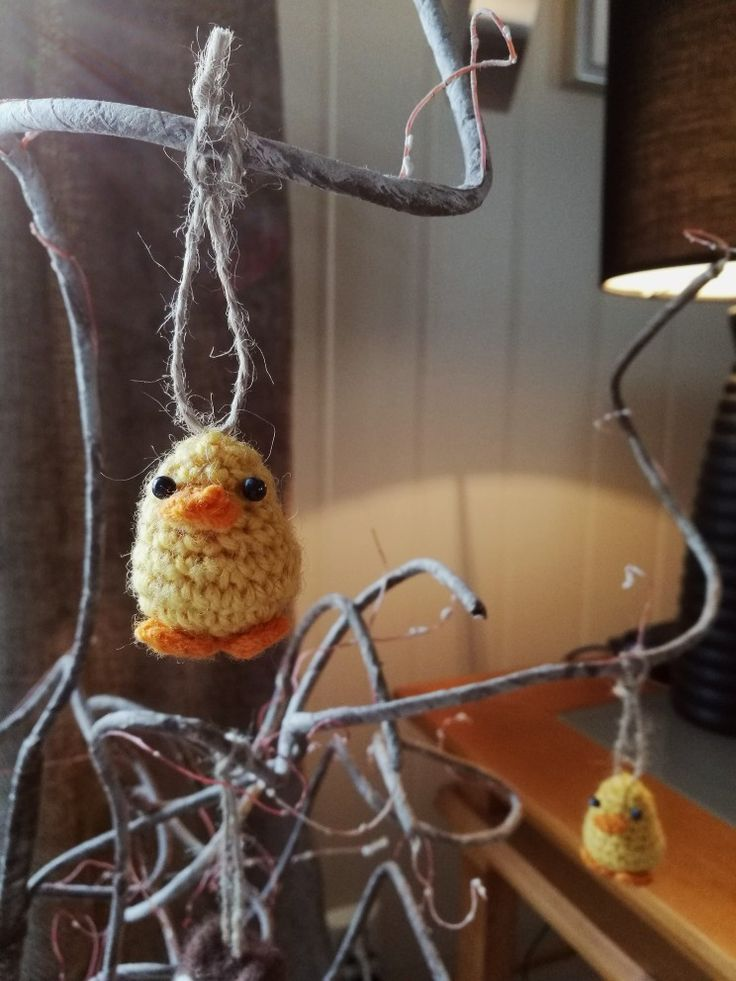 Mini crocheted ducks/chickens for easter 🐤🐣🐥