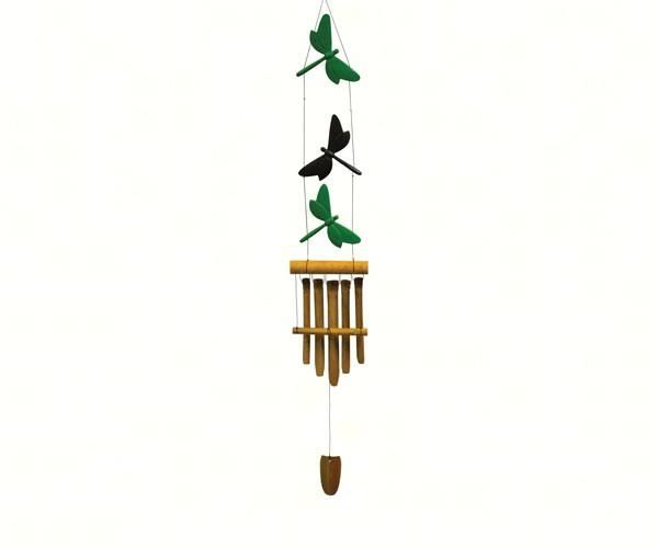 Dragonfly Trio Bamboo Wind Chime Wind Chimes Chimes Bamboo Wind Chimes