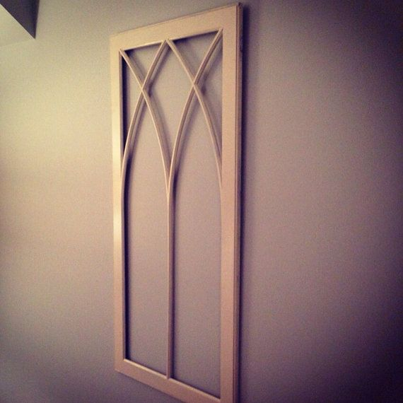 Wooden Window Frame Wall Decor : Wooden window frame wall decor