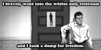 """""""Freedom Ride or Die."""" The Boondocks, Season 4 - Episode 5. Tonight at 10:30p…"""