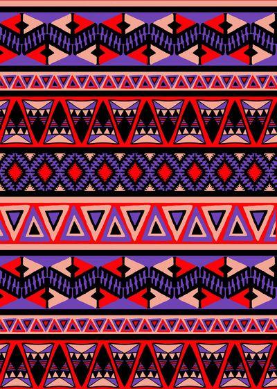Neo Tribal Art Print #amysia