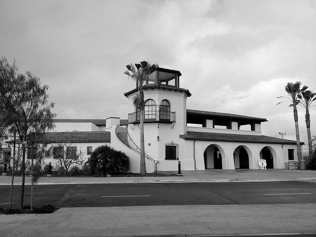 Santa Barbara Airport Terminal, Photo by Flickr user beltz6 - loved flying out of this airport. Used to be hassle free!