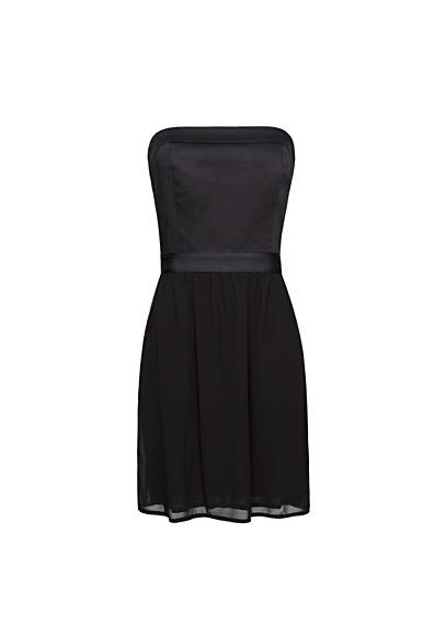 MANGO - Strapless combi dress
