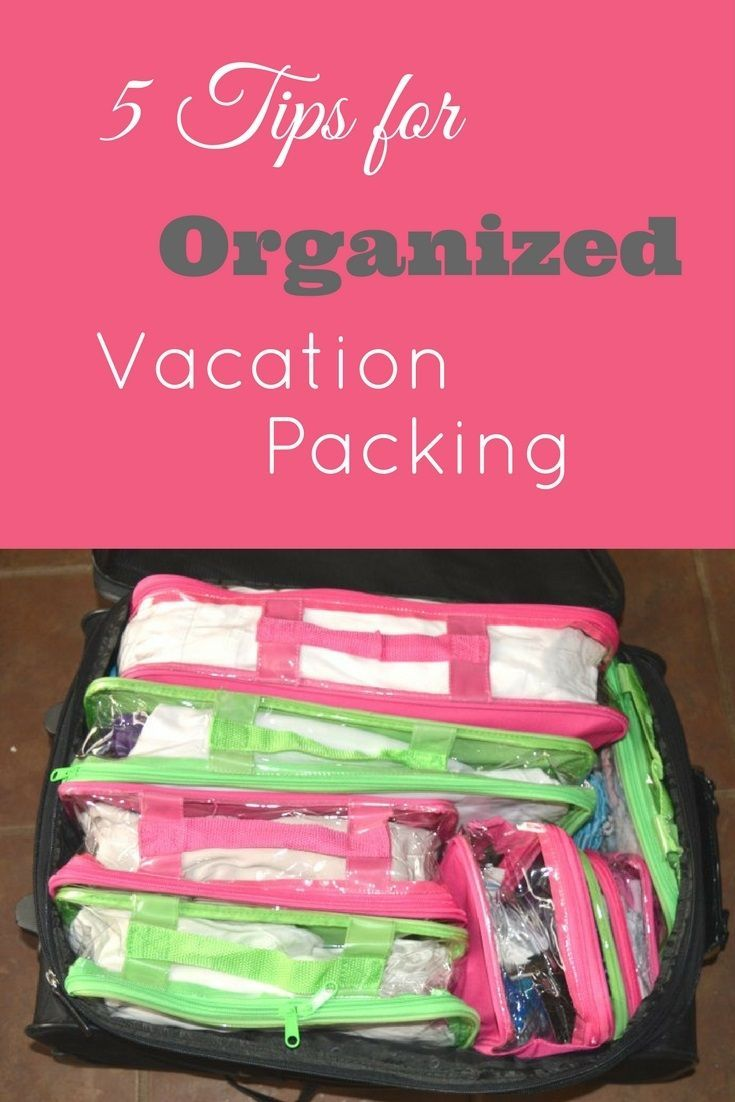 5 tips for organized vacation planning | free vacation checklist printable | free vacation planner printable