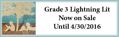 SALE 4/1/16-4/30/16: Lightning Literature & Composition Grade 3 Pack with Poetry Book