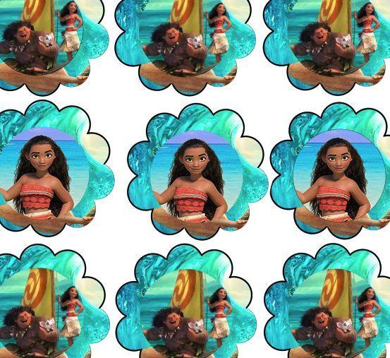 Moana Birthday Party Printable Files Moana Birthday