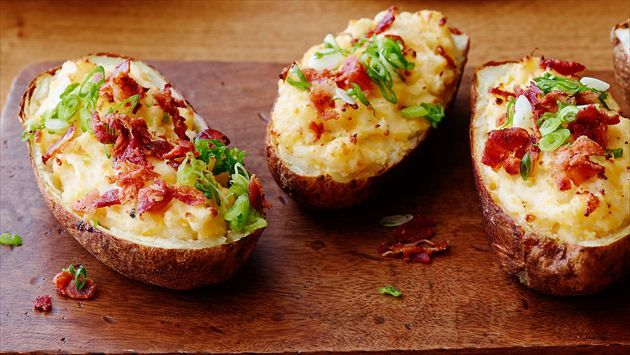 Get this all-star, easy-to-follow Twice-Baked Potatoes recipe from Trisha Yearwood