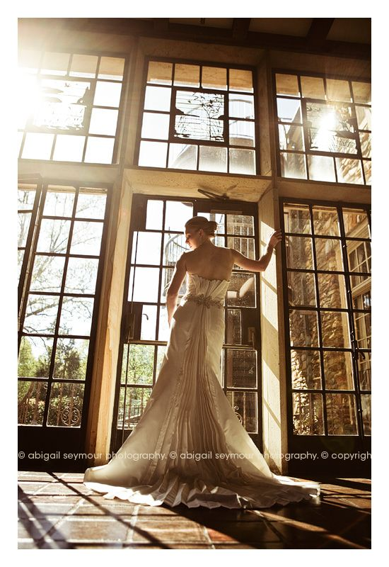 window. light. dress.