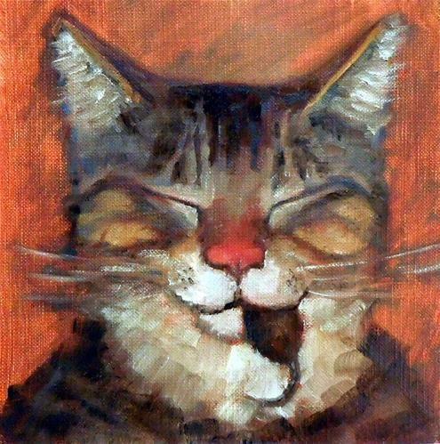 "Daily Paintworks - ""Eat Prey, Love"" - Original Fine Art for Sale - © Cietha Wilson"