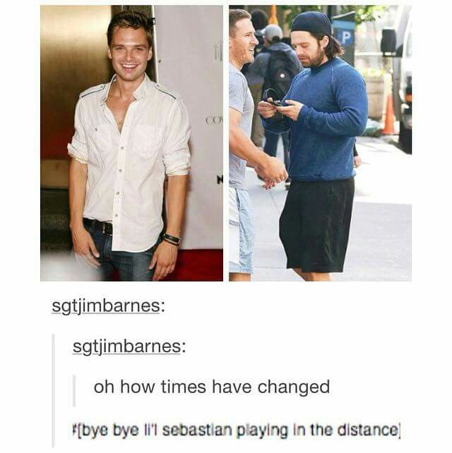Bye bye lil' Sebastian < He's a beast.>> lol parcs and rec