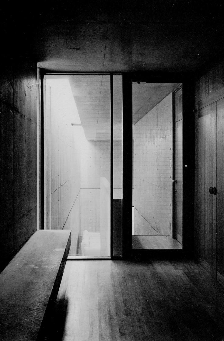 Tadao Ando Koshino House Interior View To The Living Room Architecture Pinterest Tadao