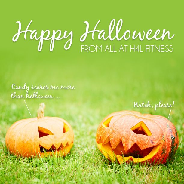 Happy Halloween from H4L. Make sure you don't trick yourself about the treats. #halloween #outdoorfitness #trainhailorshine #socialfitness #crossfit #bootcamp #befit #bemotivated #workout #exercise #fitnessinspiration #healthy4lifefitness #H4L