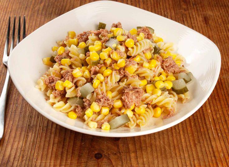 Ma este a DanOn ezt a receptet javasolja: Tonhalas tésztasaláta