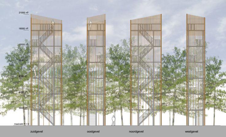 Viewingtower at Vecht Riverbank / Ateliereen Architecten