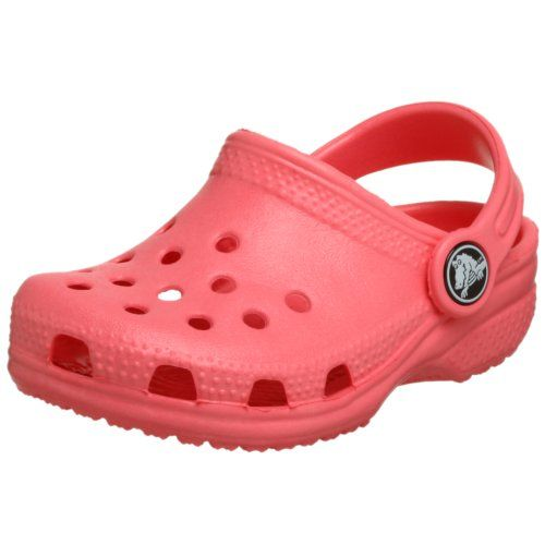 0b44ebca9e4c Crocs Kid s Classic K Clog 10006 Pink 2 US Little Kid 4 US Big Kid ...