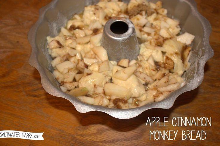 Apple Cinnamon Monkey Bread | Breads | Pinterest