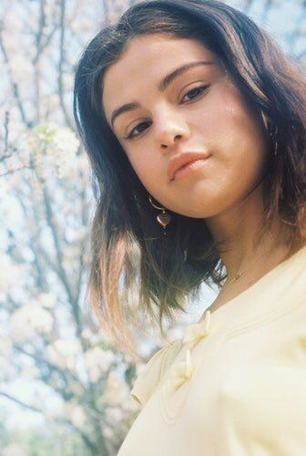 "July 10: Selena Gomez photographed by Petra Collins for her ""Fetish"" photoshoot. [GP]"