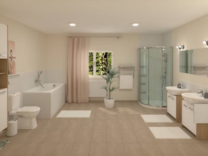 Badplaner Jetzt Badezimmer Planen Mit Obi In 2020 Badezimmer Planen Badezimmer Helle Badezimmer