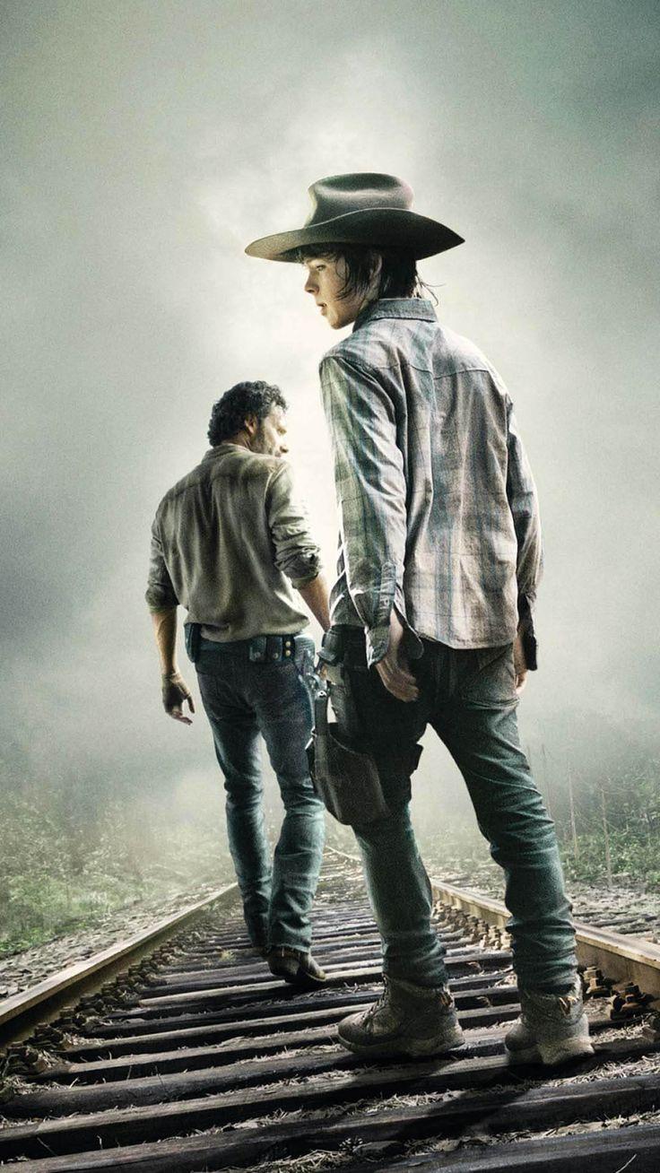 Fonds d'écran iPhone Série TV The Walking Dead 01