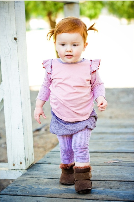 little redhead - this is what I was like and I hope that Madi will look like....
