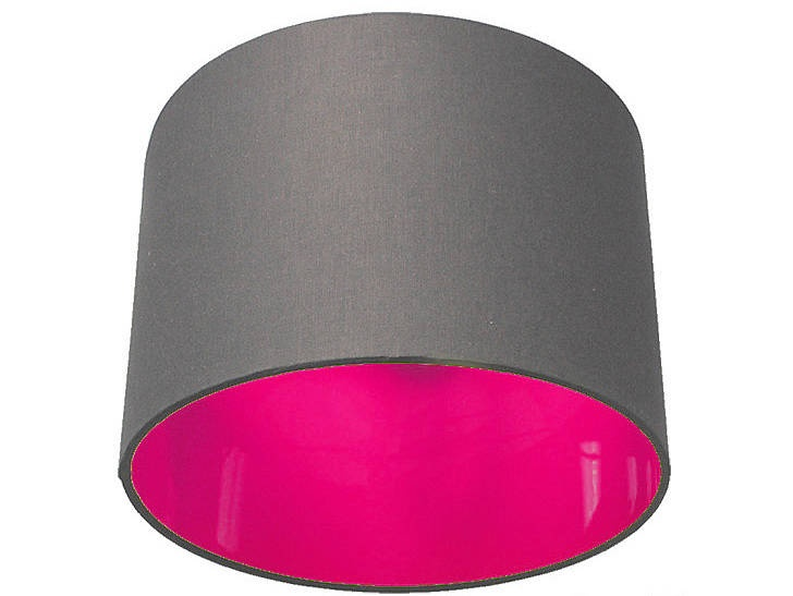 Neon Pick And Mix Drum Lampshade 40 Colours In 2019 Lamps Grey Bedroom With Pop Of Color Pink Lamp Shade