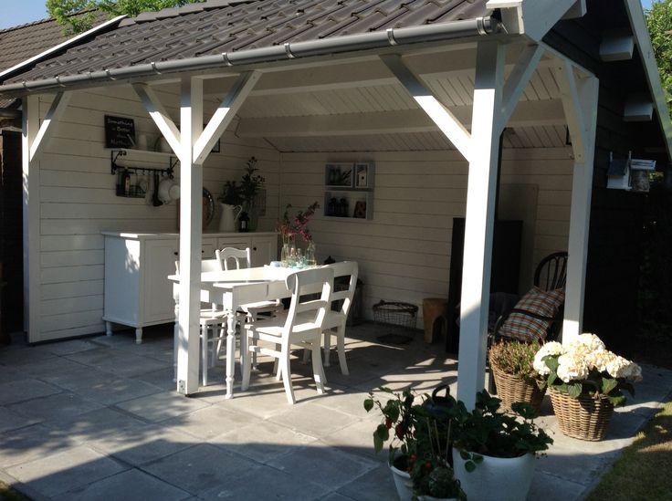 51 best images about buitenkeuken on pinterest exposed ceilings patio and kitchens - Luifel ontwerp voor patio ...