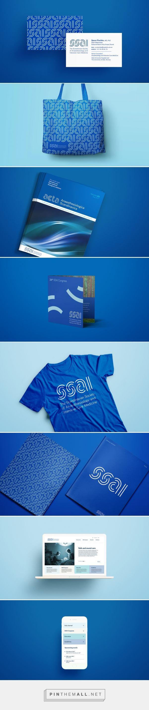 Ssai Medical Branding by Tank Design | Fivestar Branding Agency – Design and Branding Agency & Curated Inspiration Gallery