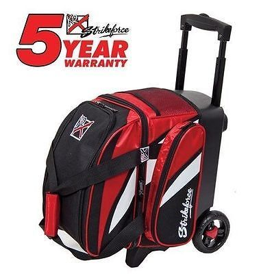 1 Ball 71094: Kr Strikeforce Cruiser Red/White/Black 1 Ball Roller Bowling Bag -> BUY IT NOW ONLY: $62.75 on eBay!