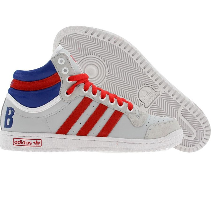 Adidas Top Ten High (light grey / college red / college royal) U43150 -