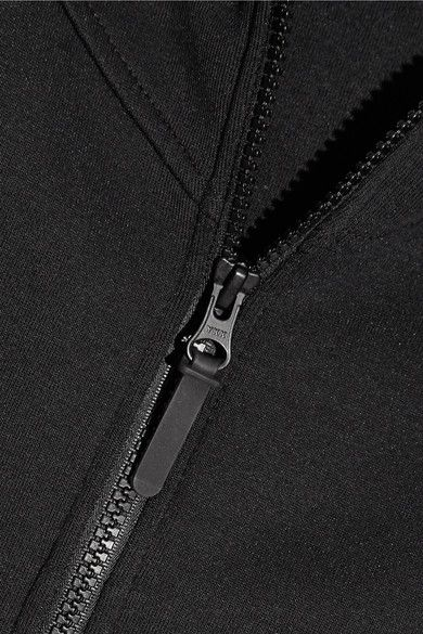Nike - Tech Fleece Cotton-blend Jersey Hooded Top - Black - medium